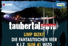Taubertal 2016 Lineup, Stand 29.01.2016, Bildquelle: Festival