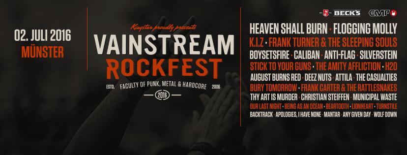 Vainstream Rockfest 2016