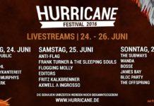 Hurricane 2016 Livestream, Bildquelle: FKP Scorpio