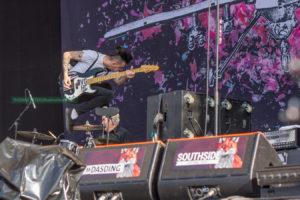Anti-Flag beim Southside 2016, Foto: Thomas Peter