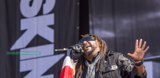 Skindred beim Southside 2016, Foto: Thomas Peter