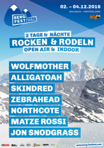 Berg Festival 2016 mit Wolfmother, Alligatoah und Skindred, Bildquelle: Taubertal Festival