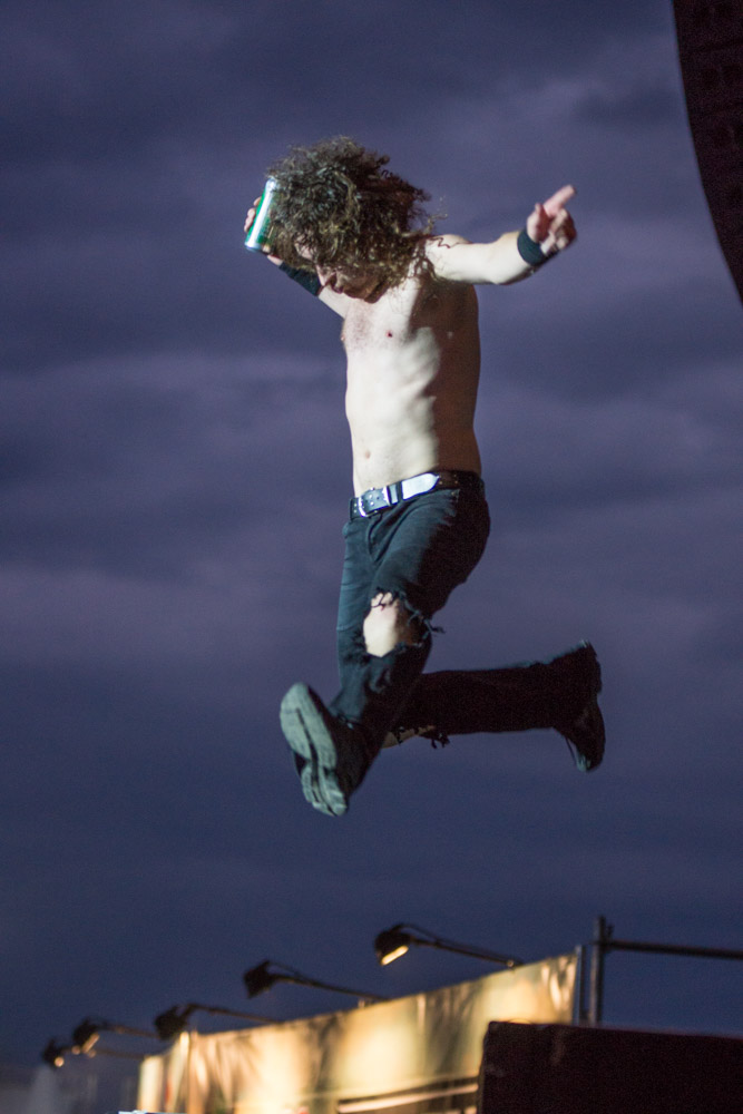 Highfield 2016 Airbourne, Foto: Thomas Peter