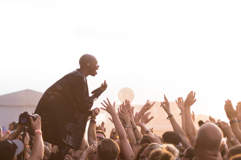 Skunk Anansie beim Highfield 2016, Foto: Thomas Peter