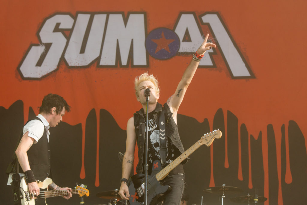 Highfield 2016 - Sum41, Foto: Thomas Peter