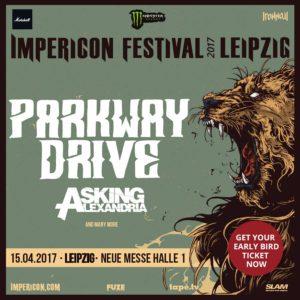 Impericon Festival Leipzig 2017 mit PArkway Drive und Asking Alexandria, Quelle: Asking Alexandria