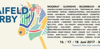 Maifeld Derby Lineup 2017, Quelle: Festival