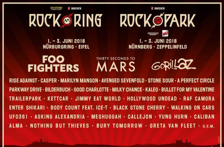 Rock am Ring // Rock im Park 2018 - Die erste Bandwelle, Bildquelle: Live Nation