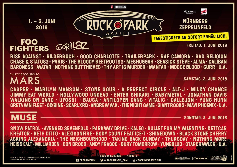 Rock im park gewinnspiel 2019